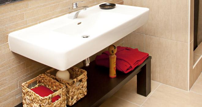 Apezinho  Minha vida sem  Como sobreviver sem armário de banheiro -> Como Improvisar Um Armario De Banheiro