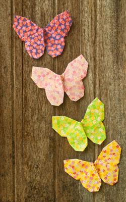 Origami na decoração