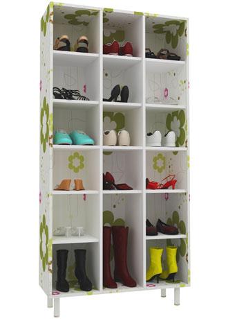 Como guardar sapatos