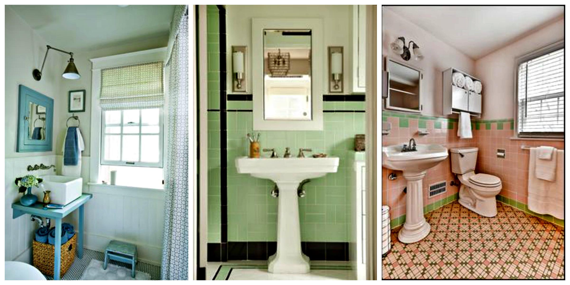 decoracao banheiro apartamento alugado:banheirovintage1 #714420 2400 1200