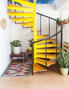 Vasos escada caracol